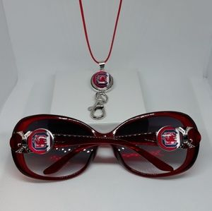 South Carolina Gamecocks Sunglasses set